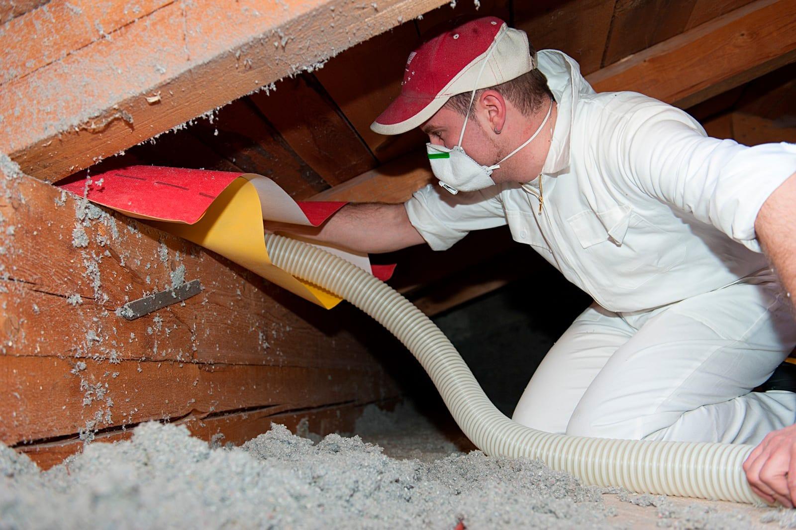 Thermobag zur Dämmung von Dachschrägen